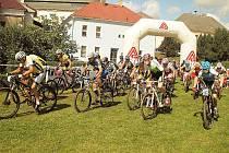 I když rekord v účasti překonán nebyl, Rynárecká bejkovna táhla i letos. Pořadatelé mohli být  s účastí 170 cyklistů spokojeni.