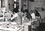 Sklárna během své existence prošla střídavě úspěšnými i obtížnými dobami včetně období válečných. Značný rozkvět sklárny začal po druhé světové válce. Závod byl v roce 1949 začleněn do nově národního podniku Český křišťál se sídlem v Českých Budějovicích