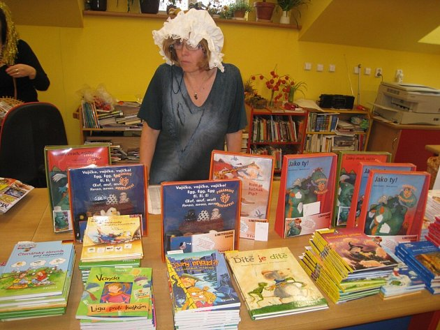 Den pro dětskou knihu si pro své malé i velké příznivce připravila v sobotu dopoledne pelhřimovská Městská knihovna.