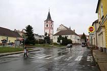 Náměstí v Černovicích.