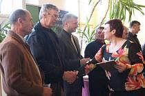 V Želivě se během čtvrtečního odpoledne sešli zástupci nejlepších obcí v třídění odpadů.