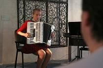 Absolventský koncert v Kamenici nad Lipou.