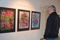 Už jen do konce března, tedy do pondělí, je ve výstavním sále Městského muzea v Kamenici nad Lipou k vidění výstava obrazů Věry Frouzové.
