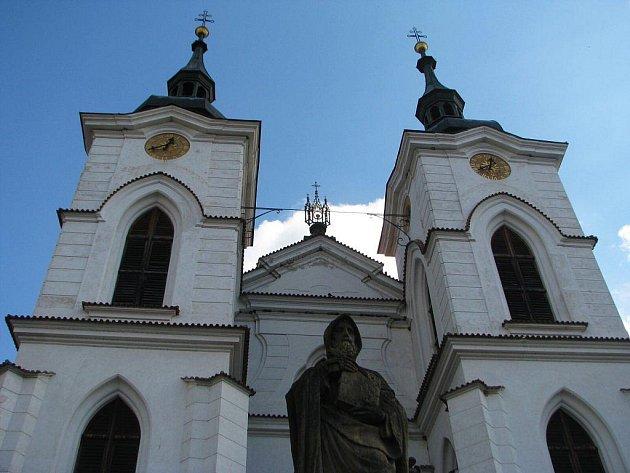 Příchod premonstrátů do Želiva se bude slavit pod jedinečnou Santiniho klenbou kostela Narození panny Marie.