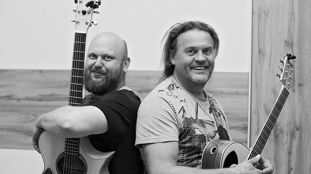 Petr Taks (vlevo) a Luboš Rafaj.
