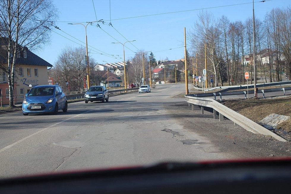 Ulice Romana Havelky v Jihlavě