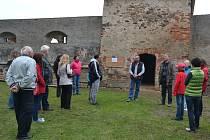 Při prohlídkách zámku v Červené Řečici probádali i dosud neprobádané.