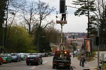 V Pelhřimově mají další chytrý semafor.