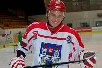 Tomáš Hadrava hraje v úvodu letošní sezony v dobré pohodě. Daří se mu i střelecky, což potvrdil také  v derby Vysočiny.