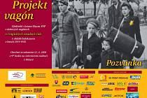 Pozvánka na Projekt vagón v Jihlavě