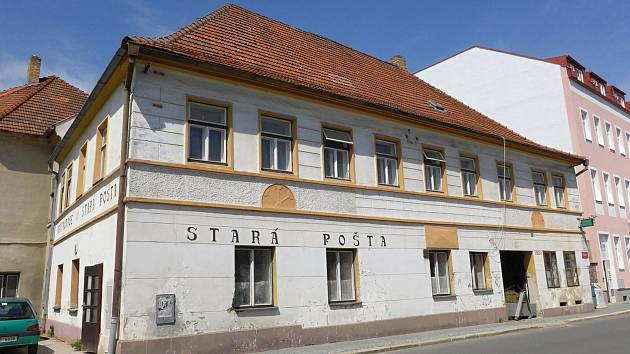 Hostinec Stará pošta v Pelhřimově.