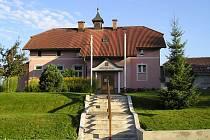 Obecní úřad v Častrově na Pelhřimovsku