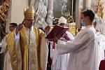 Oslavy v želivském klášteře