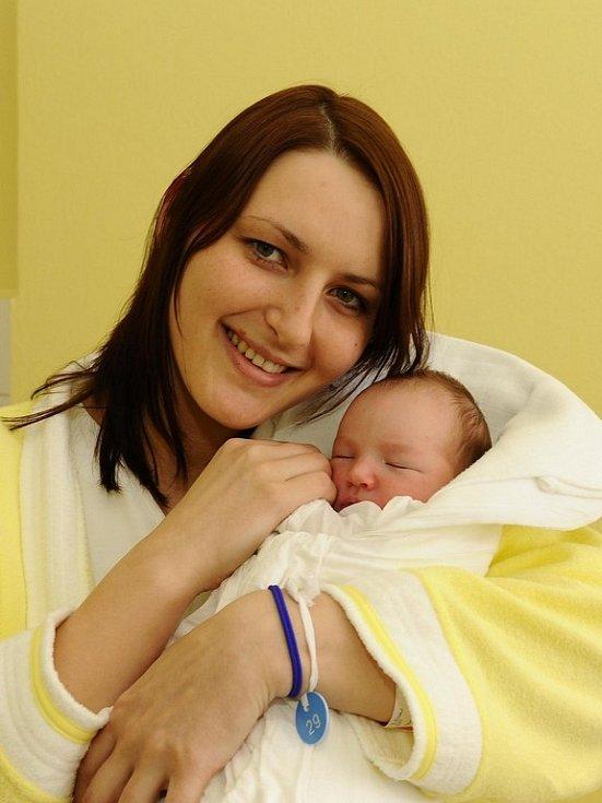 Anička Špinarová, narodila se 18. února 2009, Myslotín, váha: 3600 g