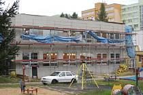 Zateplit už v Pelhřimově zbývalo pouze Mateřskou školu Osvobození (na snímku) a Mateřskou školu U Stínadel.
