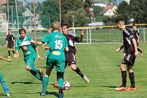 Pět gólů nastříleli pelhřimovští mladší dorostenci do sítě Otrokovic už v prvním poločase divizního utkání.