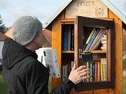 Knihobudky jsou k nalezení hned na třech místech v Pelhřimově.