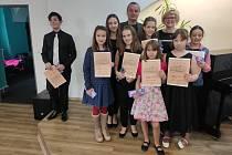 Úspěšná výprava Základní umělecké školy Pelhřimov.