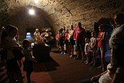 Večerní prohlídky hradu Kámen