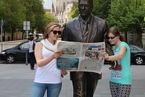 Pelhřimovský deník se čte i v Maďarsku.