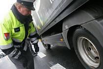 Policejní tým Kamion v terénu