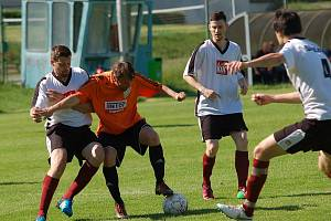 Fotbalisté Jiřic otočili vývoj zápasu v samém závěru.