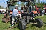 Osmá Rovenská traktoriáda opět nabídla atraktivní podívanou. Počasí závodům přálo a malí i velcí návštěvníci se dobře bavili.
