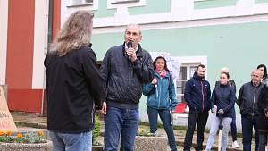V Pelhřimově opět demonstrovali proti Babišovi