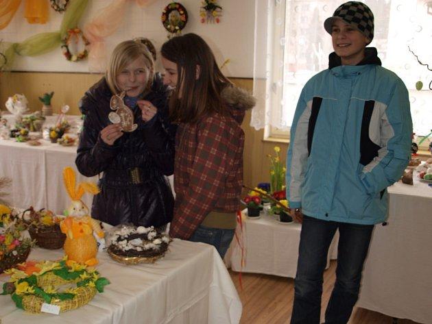 Velikonoční výstava v Domě zahrádkářů.