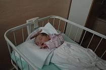 Kristýna Škodová, 17. 10. 2010, Pelhřimov, 3 100 g