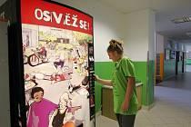 Prodejní automat s nápoji zmizel v loňském roce kvůli pamlskové vyhlášce také z chodby Základní školy Krásovy domky v Pelhřimově.