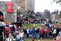 Podzimní slavnosti na hradu Orlík u Humpolce