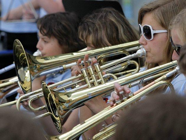 V Kalištích v sobotu v rámci festivalu koncertují i žáci humpolecké ZUŠ.