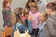 Sobotní program ve škole v Božejově.