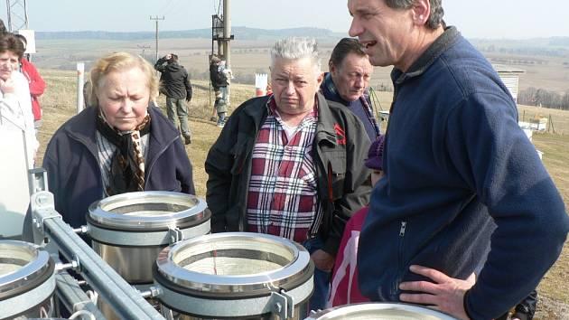 Lidé si nenechali ujít Den otevřených dveří v Observatoři v Košeticích.