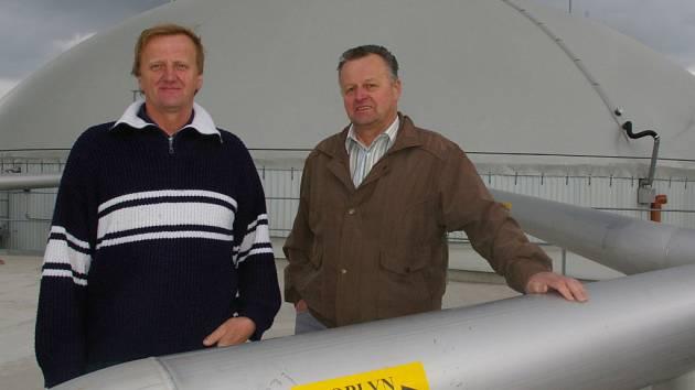 Bioplynová stanice v Černově