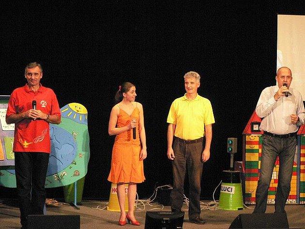 Vánoční show Amfory potěšila děti v Pacově.