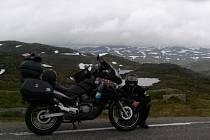 David Podoba a Tomáš Hrala z Humpolce cestovali minulé léto napříč Norskem. Letos chtějí vyrazit spolu znovu na motorkách a ještě se rozhodují mezi Slovenskem a Alpami.