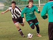 Fotbalisté Čejova posílili naději na podzimní druhou příčku. V dohrávce porazili Plačkov 2:0.