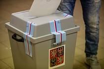 Volby do zastupitelstva Kraje Vysočina a do Senátu ve volebním okrsku č. 7 v Pelhřimově.