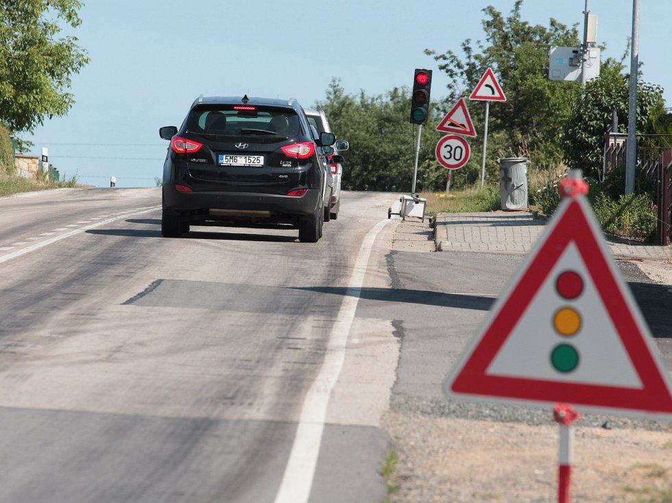 U Křelovic nebo u Želiva lze narazit na různé stavby, kvůli nimž se zkomplikovala doprava v regionu.