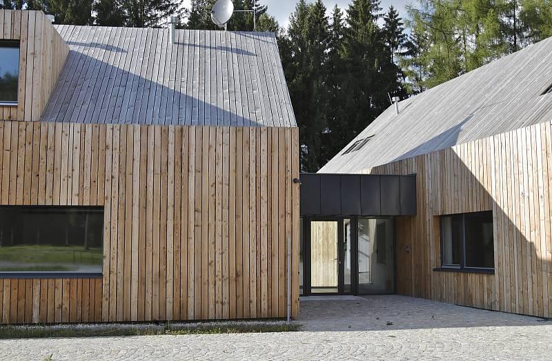 Budoucí sídlo Pacovské lesní.