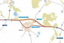 Obchvat obce Kámen změní i mapy silniční sítě.
