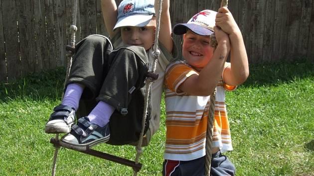 V Mateřské škole Pod náspem v Pelhřimově si děti budou hrát až do 25. července, na zbytek prázdnin se přesunou do školky Na Pražské.