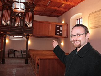 Daniel Matějka stojí v čele sboru Českobratrské církve evangelické v Moravči od roku 2008.