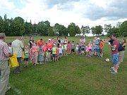 Den dětí v Petrovicích.