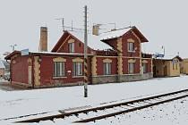 Vlaková nádraží v Obratani