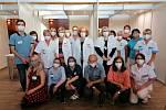 Očkovací tým Nemocnice Pelhřimov.