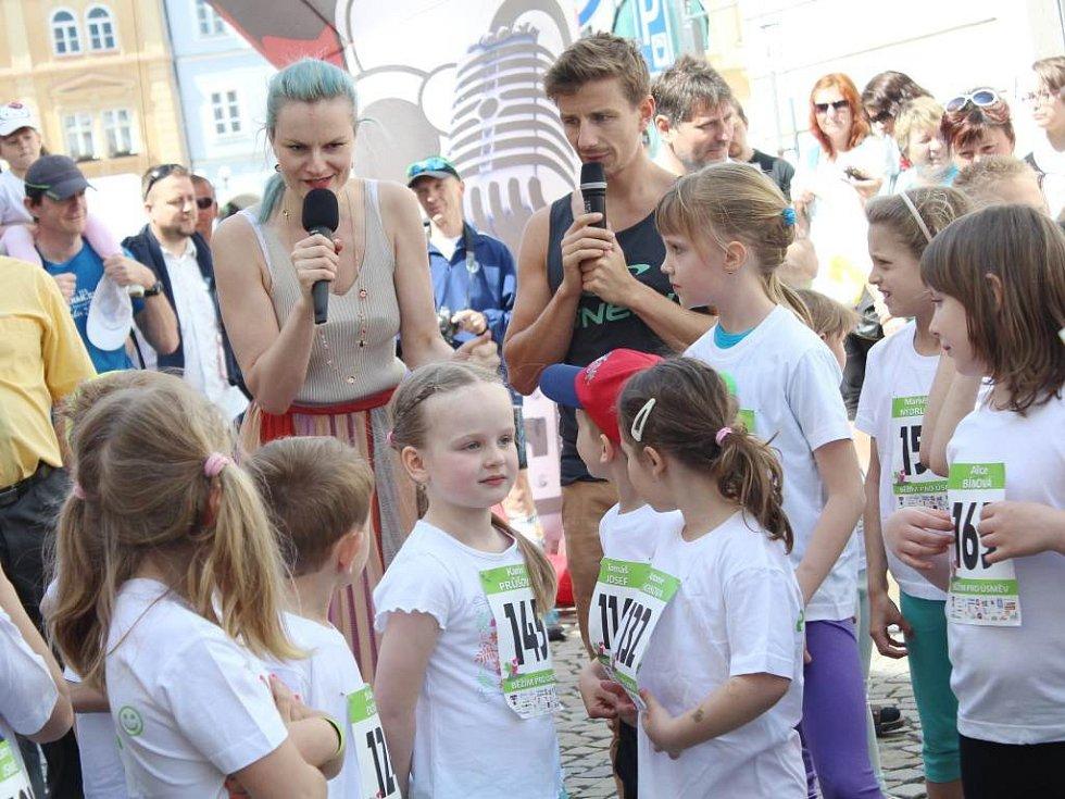 Běh pro úsměv podpořili také Iva Pazderková a Ondřej Havlík.