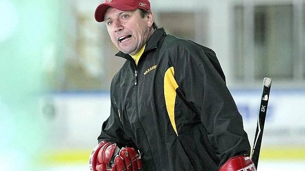 Tréninkový hokejový kemp Petra Klímy.